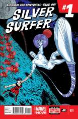 Silver Surfer (2014-2016) #1 Variant A