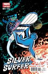 Silver Surfer (2014-2016) #1 Variant D: Animal Cover