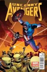 Uncanny Avengers (2012-2014) #18 Variant D: Captain America Cover