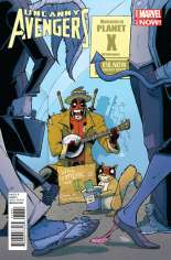 Uncanny Avengers (2012-2014) #18 Variant E: Deadpool Cover
