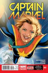 Captain Marvel (2014-2016) #2 Variant A