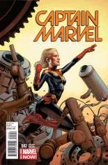 Captain Marvel (2014-2016) #2 Variant B: Incentive Cover