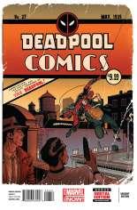 Deadpool (2012-2015) #27 Variant D: Anniversary Cover