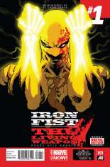 Iron Fist: The Living Weapon (2014-Present) #1 Variant A