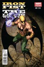 Iron Fist: The Living Weapon (2014-Present) #1 Variant B: Incentive Cover