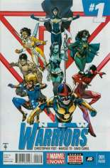 New Warriors (2014-2015) #1 Variant F: 2nd Printing