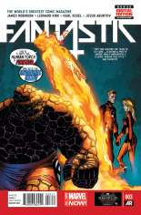 Fantastic Four (2014-2015) #3 Variant A