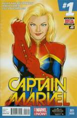 Captain Marvel (2014-2016) #1 Variant F: 2nd Printing
