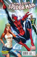 Amazing Spider-Man (2014-2015) #1 Variant O: Midtown Exclusive Connecting Cover