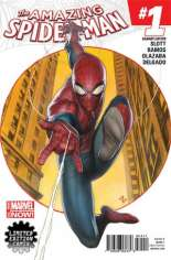 Amazing Spider-Man (2014-2015) #1 Variant Q: Limited Edition Comix Exclusive