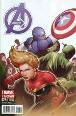 Avengers (2012-2015) #28 Variant B: Captain America Team-Up Cover