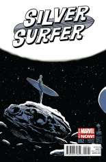 Silver Surfer (2014-2016) #2 Variant B: Incentive Cover