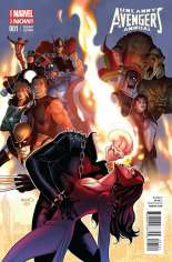 Uncanny Avengers (2012-2014) #Annual 1 Variant B: Incentive Cover