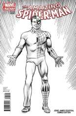 Amazing Spider-Man (2014-2015) #1 Variant Z: Desert Winds Comics Exclusive Sketch Cover