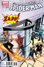 Amazing Spider-Man (2014-2015) #1 Variant ZX: Zapp Comics Exclusive