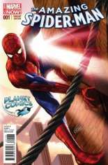Amazing Spider-Man (2014-2015) #1 Variant ZG: Planet Comics Exclusive