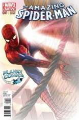 Amazing Spider-Man (2014-2015) #1 Variant ZH: Planet Comics Exclusive Fade Cover
