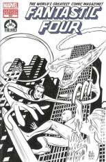 Fantastic Four (2012) #600 Variant F: Hero Initiative Exclusive Sketch Cover; Images and Artists Vary