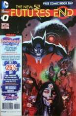 New 52: Futures End (2014-2015) #0 Variant B: Free Comic Book Day 2014; Borderland Comics & Games Exclusive