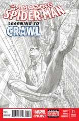 Amazing Spider-Man (2014-2015) #1.1 Variant C: Sketch Cover