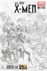 All-New X-Men (2013-2015) #27 Variant C: 75th Anniversary Sketch Cover