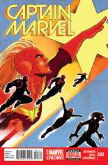 Captain Marvel (2014-2016) #3 Variant A