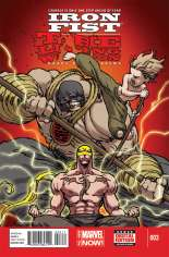 Iron Fist: The Living Weapon (2014-Present) #3 Variant A