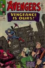 Avengers (1963-1996) #20 Variant B: UK Edition