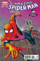 Amazing Spider-Man (2014-2015) #1 Variant ZL: Newbury Comics Exclusive