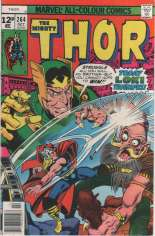 Thor (1966-1996) #264 Variant D: UK Edition