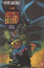 Batman/Judge Dredd: Judgment on Gotham (1991) #GN Variant B: UK Edition
