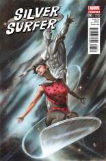 Silver Surfer (2014-2016) #3 Variant B: Incentive Cover