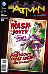 Batman (2011-2016) #32 Variant D: DC Bombshells Cover