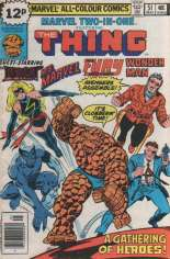 Marvel Two-In-One (1974-1983) #51 Variant C: UK Edition