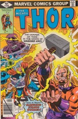 Thor (1966-1996) #286 Variant B: Direct Edition