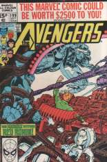 Avengers (1963-1996) #199 Variant C: UK Edition