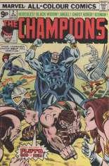 Champions (1975-1978) #2 Variant B: UK Edition