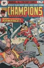 Champions (1975-1978) #5 Variant C: UK Edition