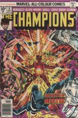 Champions (1975-1978) #8 Variant B: UK Edition
