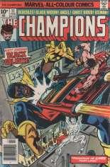 Champions (1975-1978) #11 Variant B: UK Edition