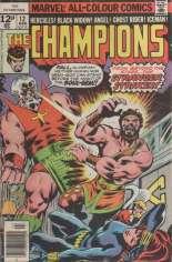 Champions (1975-1978) #12 Variant B: UK Edition