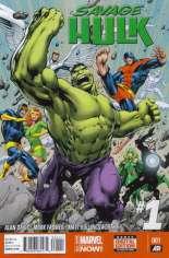 Savage Hulk (2014-2015) #1 Variant A