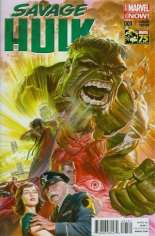 Savage Hulk (2014-2015) #1 Variant B: 75th Anniversary Cover
