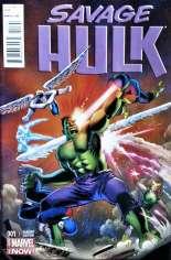 Savage Hulk (2014-2015) #1 Variant D: Incentive Cover