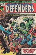Defenders (1972-1986) #23 Variant B: UK Edition