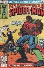 Spectacular Spider-Man (1976-1998) #53 Variant C: UK Edition