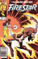 Firestar (1986) #2 Variant A: Newsstand Edition