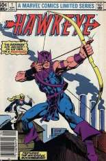 Hawkeye (1983) #1 Variant A: Newsstand Edition