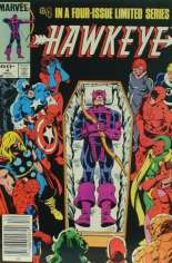 Hawkeye (1983) #4 Variant A: Newsstand Edition