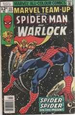 Marvel Team-Up (1972-1985) #55 Variant B: UK Edition